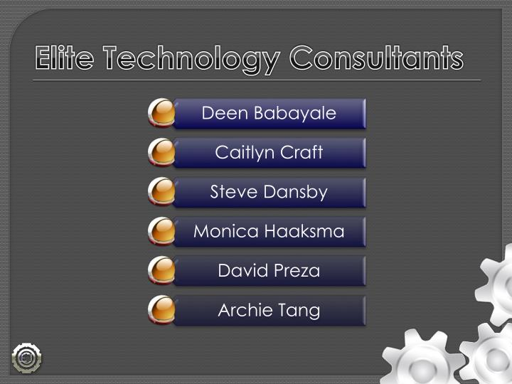 Elite Technology Consultants
