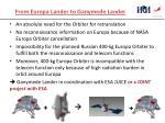 from europa lander to ganymede lander