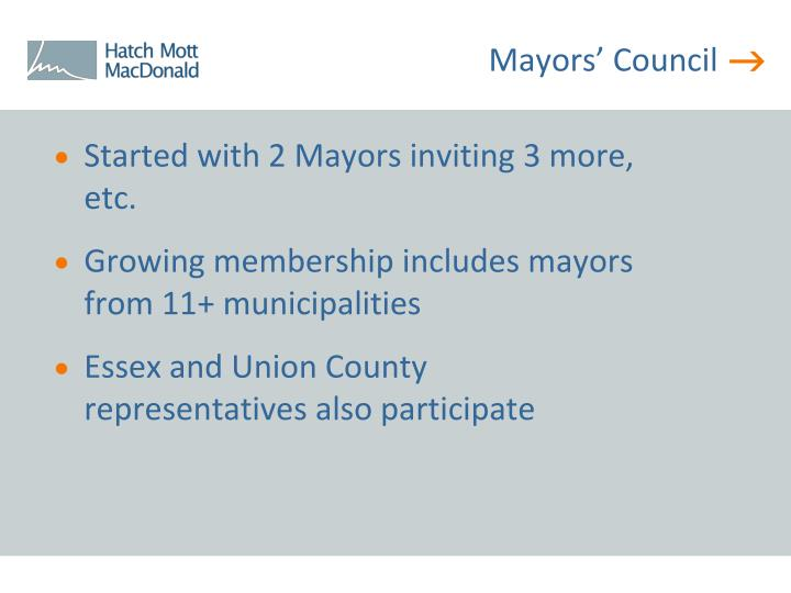Mayors' Council