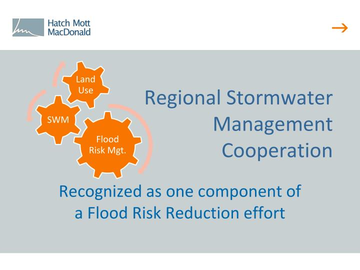 Regional Stormwater Management