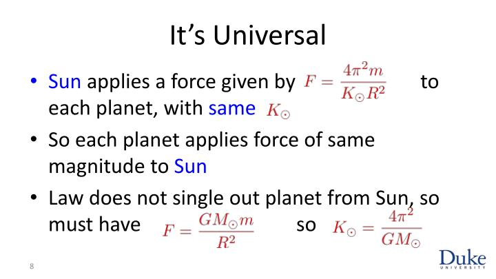 It's Universal