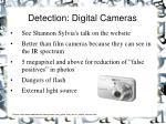 detection digital cameras