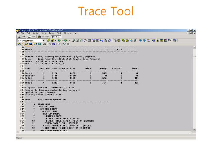 Trace Tool