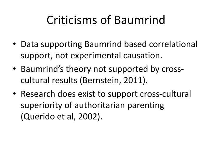 Criticisms of