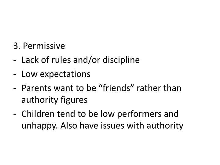 3. Permissive