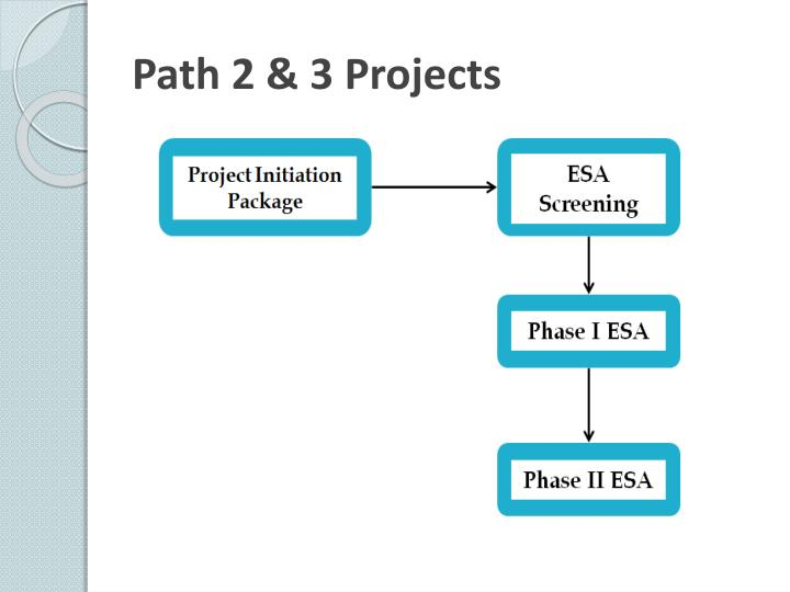 Path 2 & 3 Projects