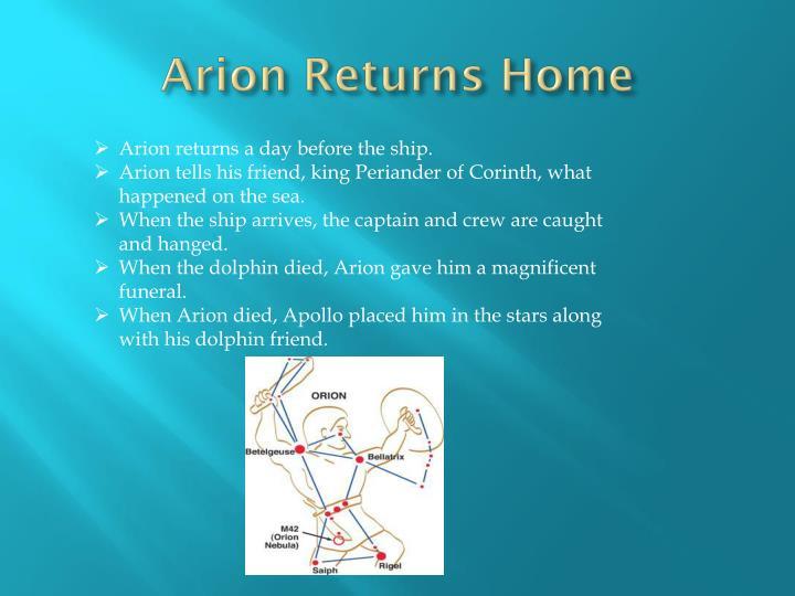 Arion Returns