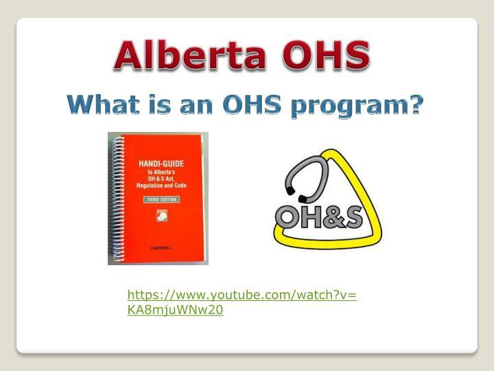 Alberta OHS