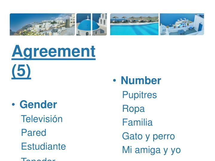 Agreement (5)