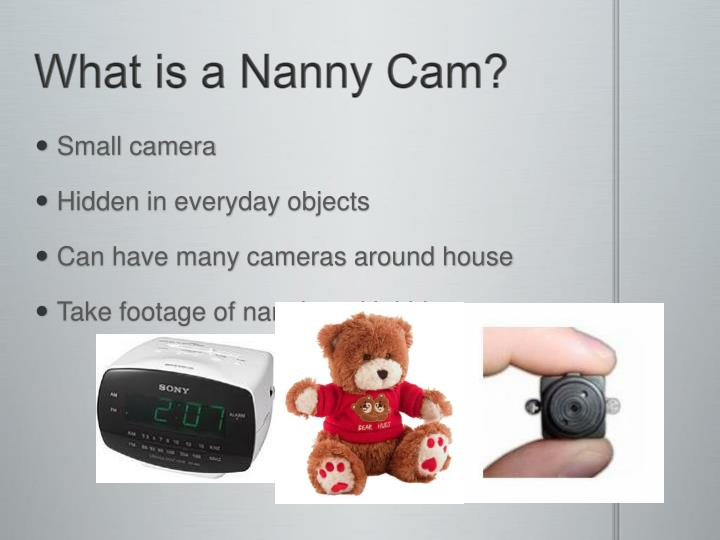 What is a Nanny Cam?