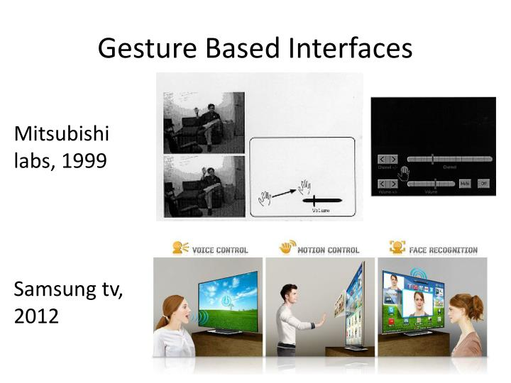 Gesture Based Interfaces