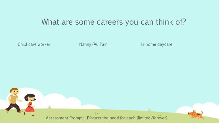 What are some careers you can think of?