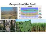 geography of the south