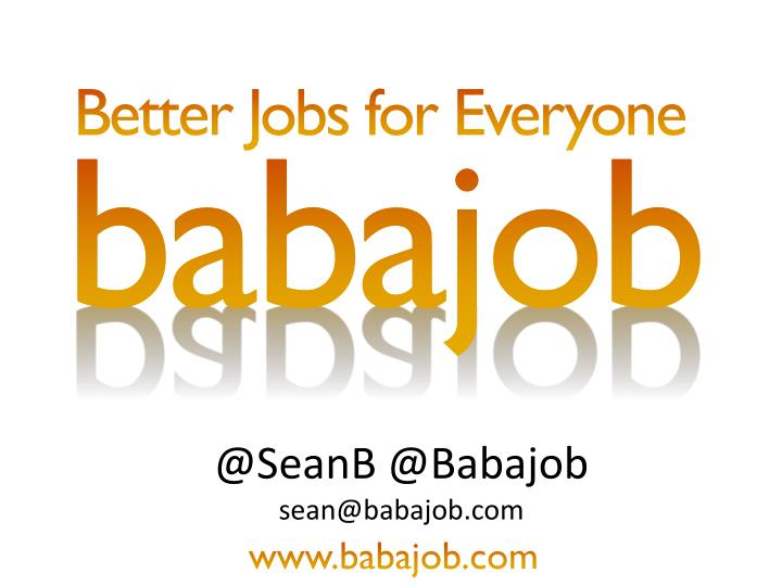 Better Jobs for Everyone