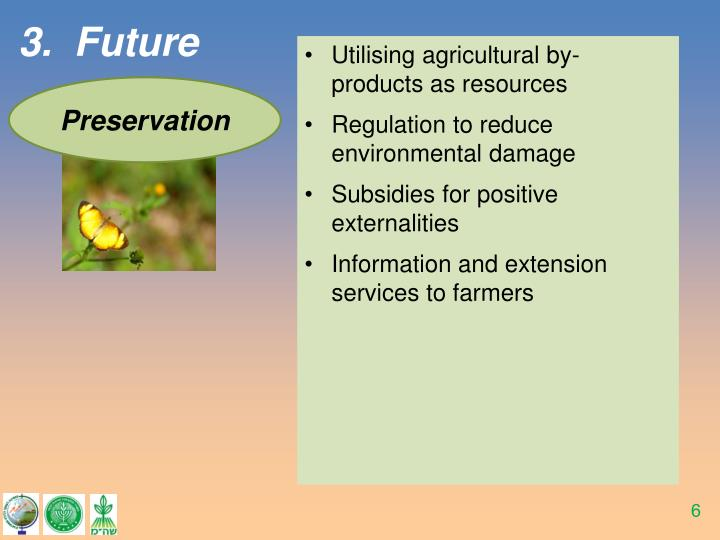 Utilising agricultural by-products as resources
