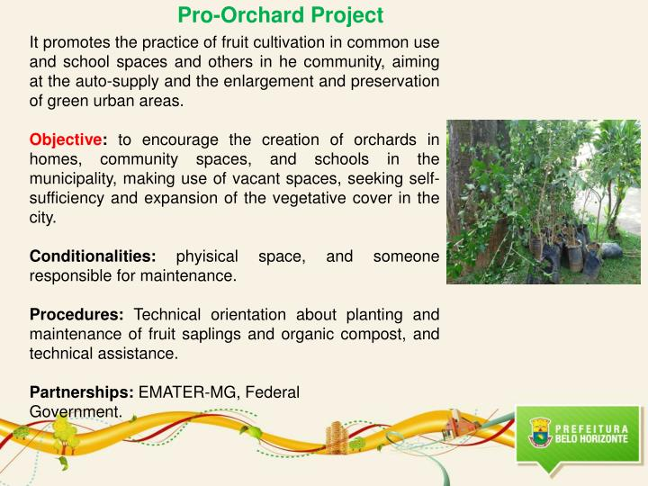 Pro-Orchard Project