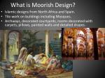 what is moorish design