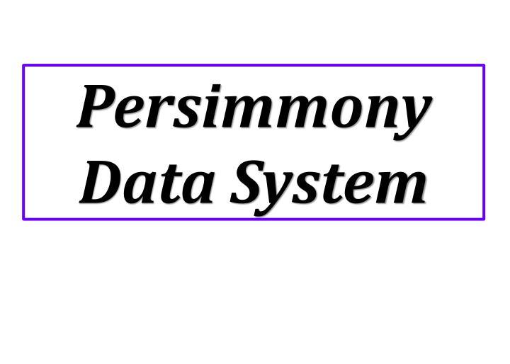 Persimmony