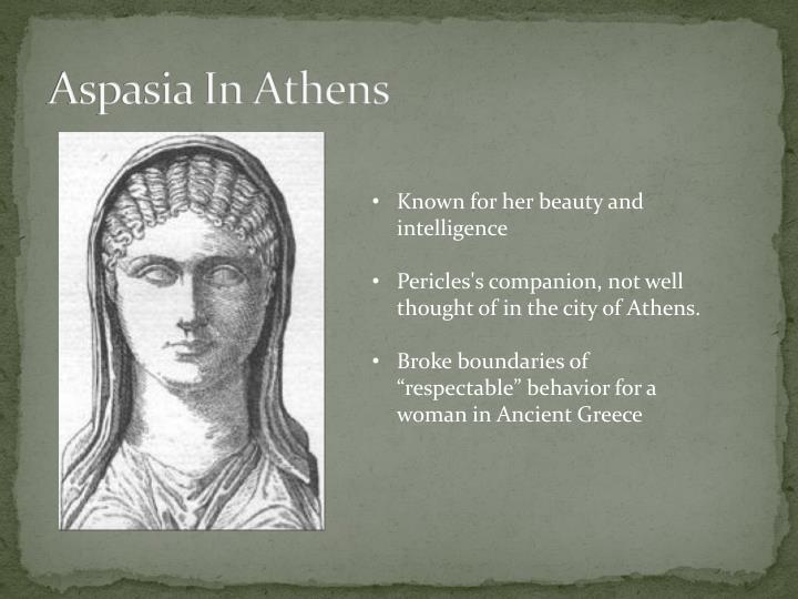 Aspasia In Athens