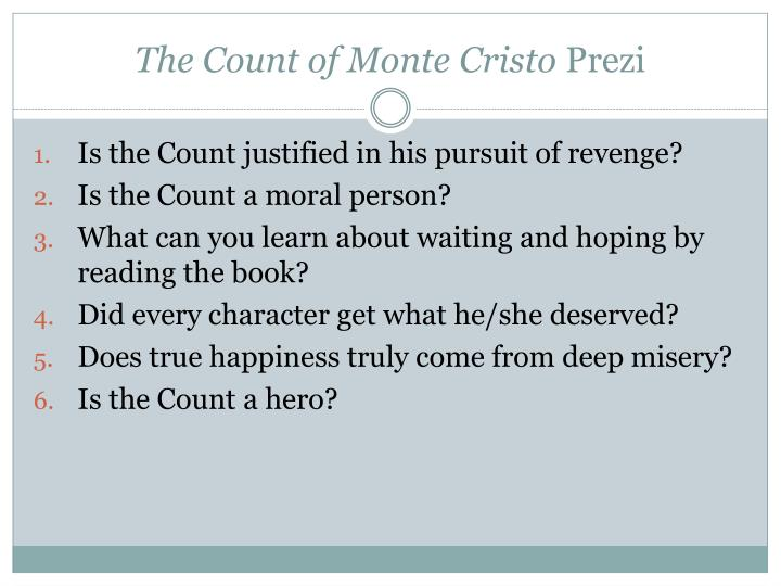 The count of monte cristo prezi1
