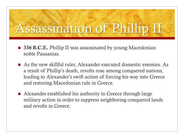 Assassination of Phillip II