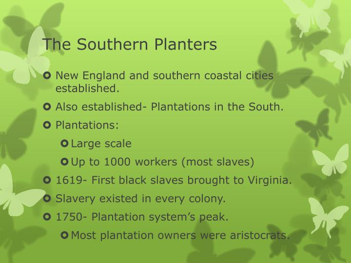 The Southern Planters