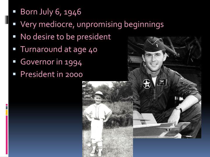 Born July 6, 1946