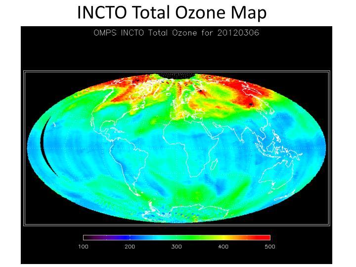 INCTO Total Ozone Map