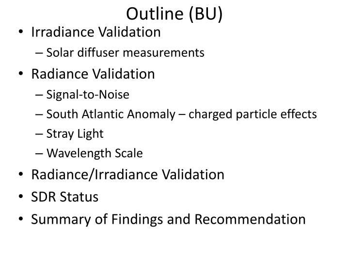 Outline (BU)