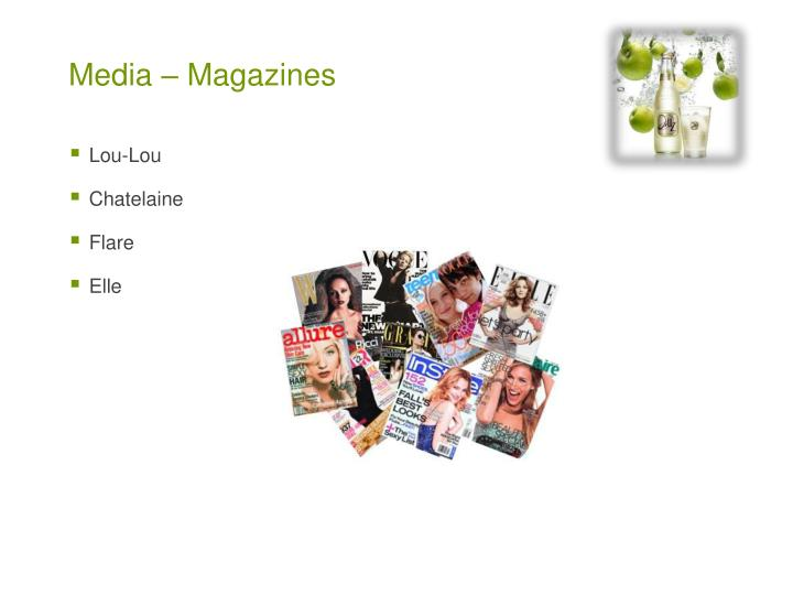 Media – Magazines