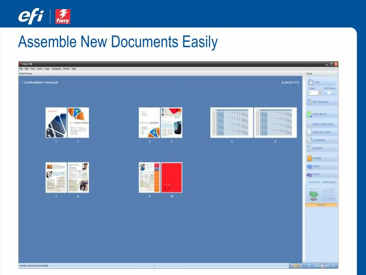 Assemble New Documents Easily