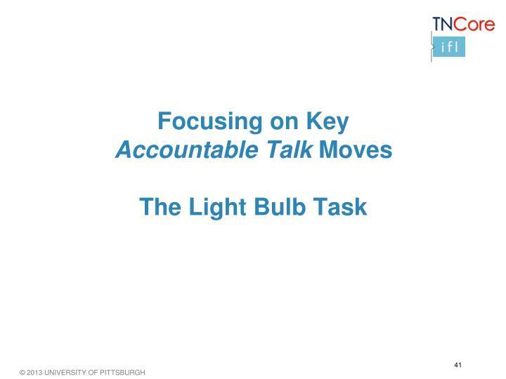 Focusing on Key