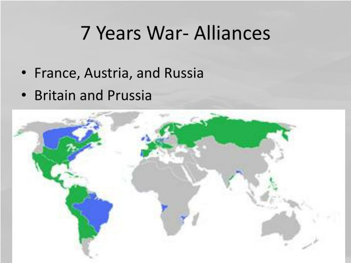 7 Years War- Alliances