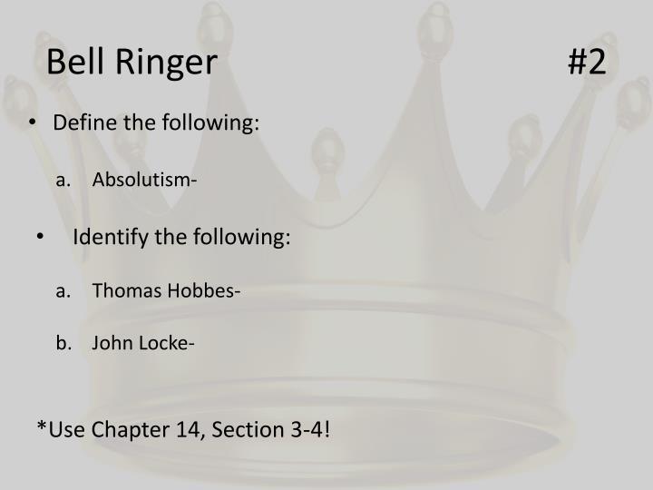 Bell Ringer#2