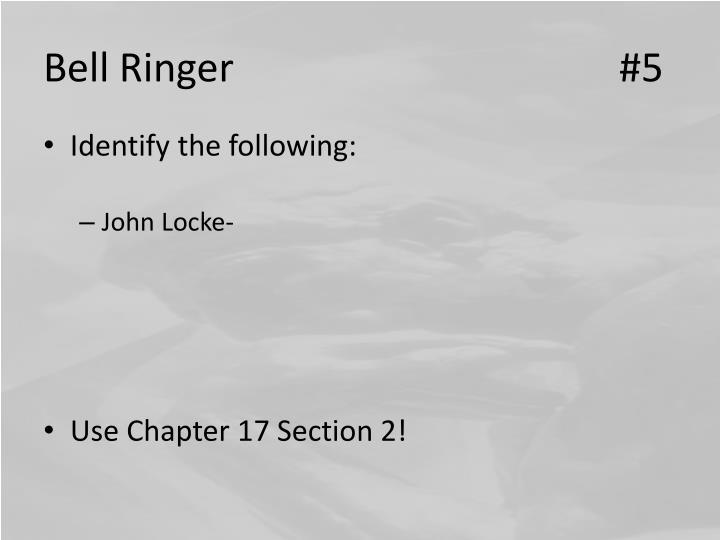 Bell Ringer#5