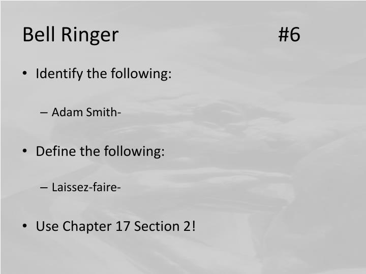 Bell Ringer #6