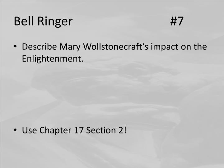 Bell Ringer #7