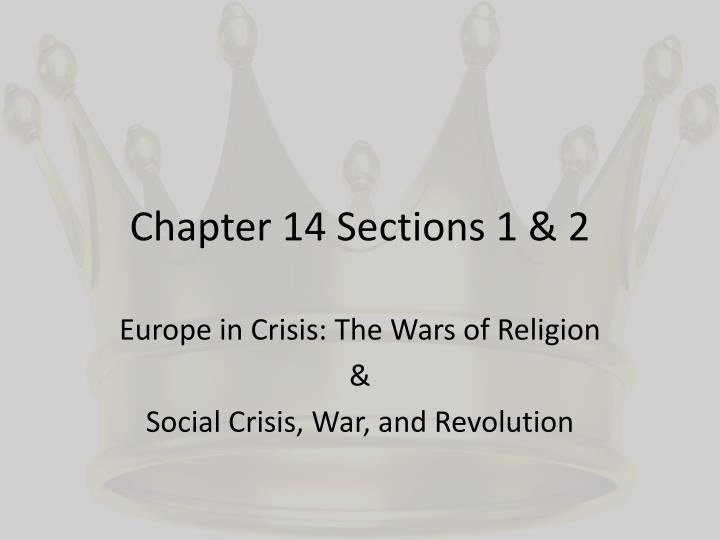 Chapter 14 Sec