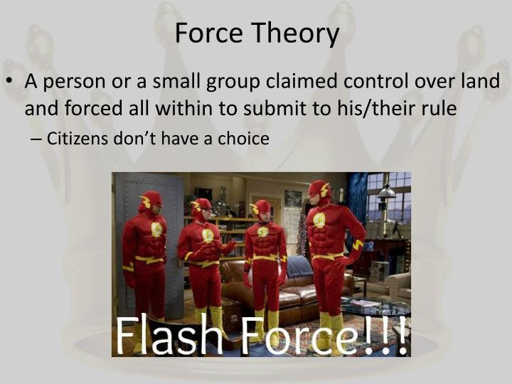 Force Theory