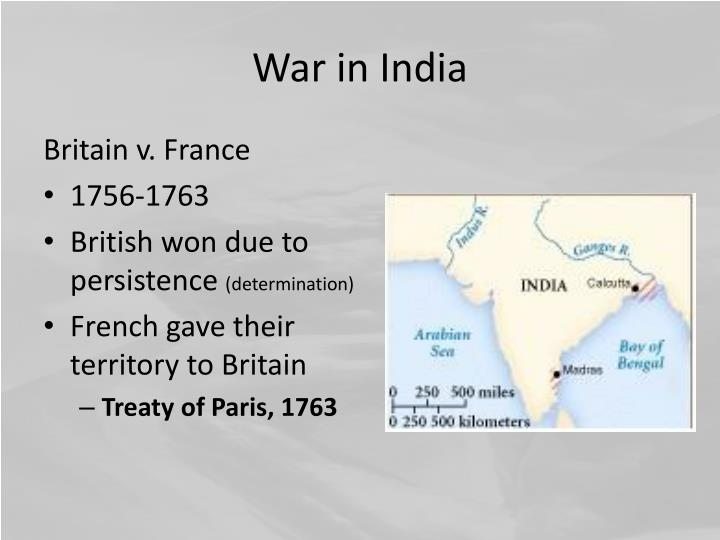 War in India