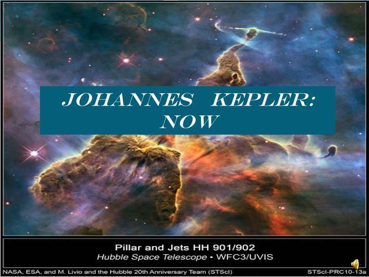 JOHANNES   KEPLER: