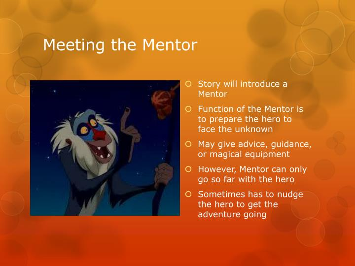 Meeting the Mentor