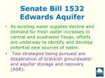 senate bill 1532 edwards aquifer