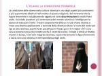l islam e la condizione femminile