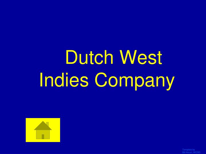 Dutch West Indies Company