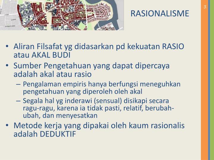 RASIONALISME
