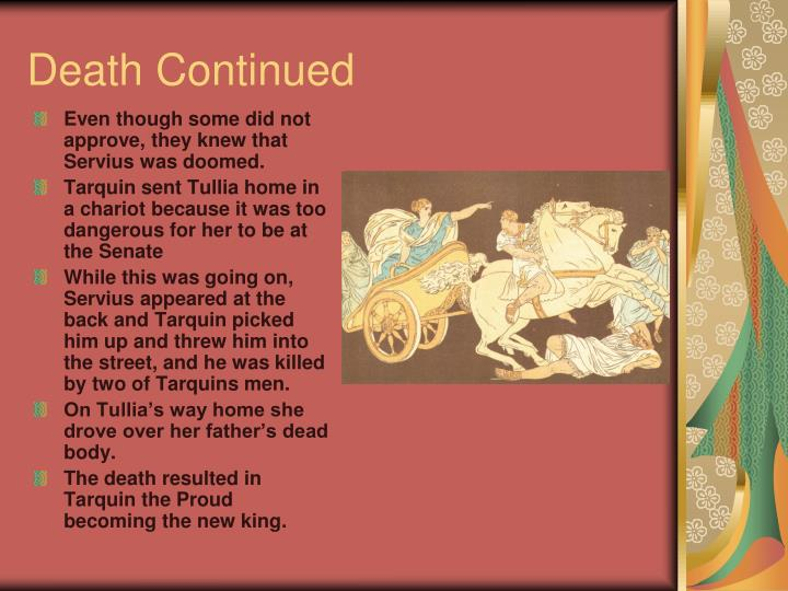 Death Continued