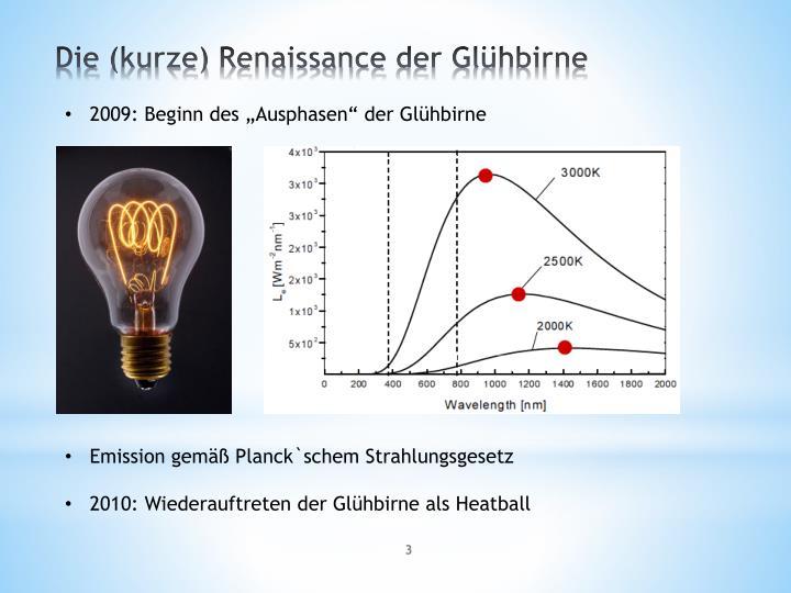 """2009: Beginn des """"Ausphasen"""" der Glühbirne"""