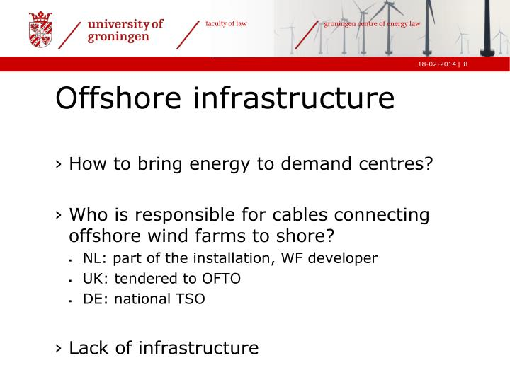How to bring energy to demand centres?