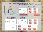 mx threshold specification 3 cat1